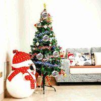 الزفاف الحلي الحلي عيد الميلاد كرات بلاستيكية شفافة الديكور 80 ملليمتر كرات عيد الميلاد واضحة كرات الزفاف 80 ملليمتر الحلي ccf5419