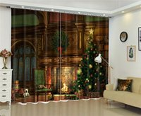 Curtain & Drapes Luxury 3D Curtains For Living Room Office El Home Wall Tapestry Can Be Customed
