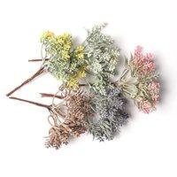Flores decorativas guirnaldas 1 unids flor artificial lavanda ramo de la lavanda decoración del hogar DIY Scrapbook Fake Craft Boda