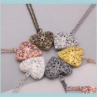 Gioielli collane ciondoli metallo charms charms medaglione a forma di cuore memoria galleggiante collana PO collana amore regalo jlupy