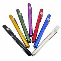 휴대용 의료 손전등, 눈 의사 토치 프로모션 펜 토치 빛 노란색 흰색 빔 LED 의료 펜 라이트 미니 LED 비상 램프