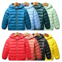 Autumn Winter Kids Down Jackets For Girls Children Warm Coats Boys 2-8 Years Toddler Parkas Outerwear Clothes 211022