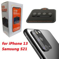 5D Full Cover Camera Lens Protector For iPhone 13 12 mini 11 Pro Max Samsung S21 Plus S20 Ultra NOTE 20 Tempered Glass Anti-Scratch 9H