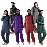 Conservativo cerniera allentata Medio Oriente Sportswear Sportswear sottile Burkino Burkins Costumi da bagno da bagno Costumi da bagno Costume da bagno Costume da bagno Hijab