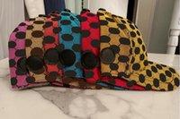디자이너 공 모자 클래식 좋은 품질 더블 레이어 두꺼운 면화 캔버스 남자 야구 모자 먼지 가방 패션 여성 태양 모자 양동이 모자