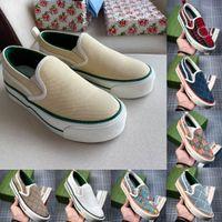 Tênis 1977 Sneakers Mulheres Slip-on Sapatos Casuais Branco Rosa Clássico Jacquard Denim Vintage Runner Trainers Skate Womens Shoe