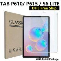 9H Protecteur d'écran en verre trempé pour Samsung Galaxy Tab S6 S7 T870 T500 S4 T830 S5E T720 W / Paquet de détail