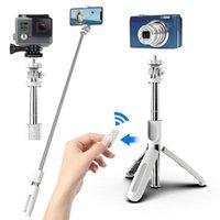 L02 Fernbedienung Stativ Handphone Live Foto Halter Kamera Selbstauslöser Artefaktstange Selfie Stick Tripod DHL