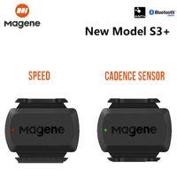 Magene Gemini210 S3 + Speed Cadence Sensor Ant + Bluetooth 4.0 компьютерный спидометр для Garmin IGPSSPORT BRYTON велосипедного компьютера