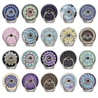 Phone Ring Stand Holder 360 Degree Rotation Universal Finger holders Compatible with Smartphones and Tablets Mandala