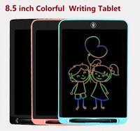 8,5-Zoll-LCD-Schreibtablette Bunte digitale Zeichnungstablette Handwriting-Pad Tragbare elektronische Tablet-Platine ultradünnes Brett mit Stift