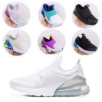 pattini infantili Travis Scott 1 Low Sneaker Bred viola i più piccoli taglio basso scarpe da tennis di pino verde Infant I Sneaker