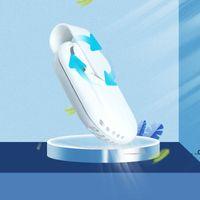 Kreative Gesichtsmaske Luftventilator Frische Kühlung Sommer Kleine USB Mini-Fans Wiederaufladbare Schutzklinke Tragbare Wiederverwendbare Stummschaltung MUTE MEER Versand FWD8642