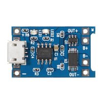 Upgrade Version 3.2V 3.7V 4.2V USB Li-ion Battery Charger Module Board With Protected Function Integrated Circuits LED Modules