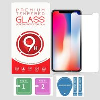 Tempered Glass Screen Protector for iPhone 12 11 13 Pro XS Max XR 6 7 8 Plus LG Film 0.3mm 2.5D with Paper Box