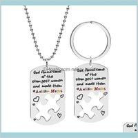 التوحد لغز سحر المفاتيح الوعي الرئيسية حلقة الهدايا بانوراما التوحد سلاسل المفاتيح لغز قطعة كيرينغ تذكار هدية RUF88 IDMBV