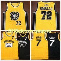Hommes Toni Kukoc Jersey # 7Juzlastika Yougoslavie Badboy # 72 Biggie Smalls Jersey Notorious B.I.G. Jerseys de basketball bad garçon cousu S-3XL