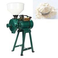 220V Hochleistungs-Trocken- und nasse Getreidemühle Maschine Erdnuss-Sektor-Butter-Schleiffräsmaschine Stein- und Stahlbrecherschleifer