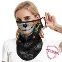 FNPU مهرج السم فينت على شكل فينديتا فريق شنقا الثلاثي ركوب الرقبة غطاء الجليد بارد شبكة قناع الوجه حماية وشاح الوجه