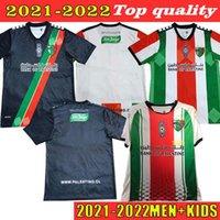 Kundenspezifische 2022 Fussball Jersey Palestino Deportivo 9 Campos 7 Rosende Startseite 6 Orres Fans Version 22 CutierRez 13 CORTES MAN + KINDER 2021 F