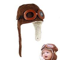 القبعات طفل رضيع لينة دفئا الشتاء التقى الزجاج والملحكة مستوحاة من الدعائم بو للوليد zimowy الطفل