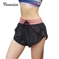 Yoga Outfits Pacemice работает шорты женщин спортивные фитнес короткие быстрые сухие тренировки тренажерный зал спортивная одежда