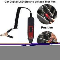 Diagnostic Tools Universal 5-36V LCD Digital Circuit Tester Voltage Tool Automotive Power Probe Scanner Car Pen Meter U9E5