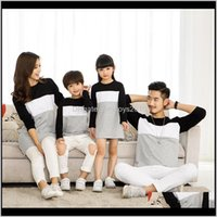 Baby Baby, Kids & Maternity Drop Delivery 2021 Matching Outfits Mother Daughter Dress Look Family Clothing Father Son T-Shirt Cotton Patchwor