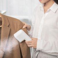 Bad Zubehör Set 2021 Smart Portable Mini Hand Kleidungsstück Dampfer 800W Generator Reise Käppchen Trockene Dampfeisen für Kleidung Bügelmaschine