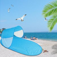 Tents And Shelters Beach Pool Outdoor Tent Anti UV Portable Single Layer Foldable Camp Automatic Instant Open Sunshelter Awning