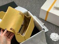 Лучшие продажи летнее прибытие драгоценные камни цепи сумки известные мини-заслонки Flip цепи ремень ремешок на плечо баранины кожаные сумки роскошные Близнецы крест корпус кошельки моды модный кошелек 17x12