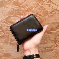 Famoso Portafoglio Designer Designer Ladies Borse Black Borses Borsa di alta qualità Pocket Pocket Slot In Pelle Slot Leather Mini borse