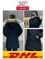 Giacca di pelliccia di lupo giacca invernale donne cappotti cappotti giù parkas oca donne parka long slim caldo caldo palle palla doudouncultivate la moralità della propria