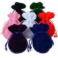Storage Bags 10PCS 7*9cm Calabash Gourd Velvet Jewelry Packaging Drawstring Pouches For Engagement Party Wedding DIY Accessories