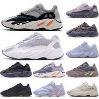 Kanye West 700 V2 Running shoes статический кроссовки оранжевый костящий Kanye West бегун мужчины женщин кроссовки твердые серый аналог Tael Carbon Blue Designer EUR 36-45
