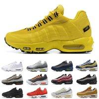 Nike air max 95 NYC Taxi scarpe da corsa da uomo KIM JONES Yin yang og triple nero bianco NSW Michigan Neon Cork De lo mio uomo scarpe da ginnastica sneakers sportive zapatos