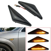 LED Dynamic Side Marker Lamp Turn Signal Light Indicator For Ford Focus MK1 1998-2004 Modeo MK3 2000-2007