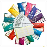 Gift Event Festive Party Supplies Home Gardengift Wrap Cash Envelopes Budget System Tear & Waterproof With 12 Colors For Money Saving,12 Exp