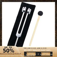 Yoga Balls 128hz Aluminum Tuning Fork Ear Picking Tool Chakra Hammer Ball Nervous System Test