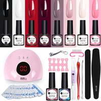 SUGAR Gel Polish Nail Art Manicure Tools Kit 24W UV LED Lamp Dryer Color DIY Set Varnish1