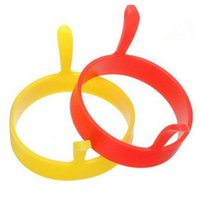 Silicone Egg Fried Fry Frier Fashion Round Kitchen Poacher Egg Pancake Ring Mould Tool Fried Breakfast Mold LLE6640