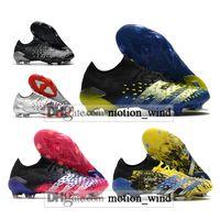 حقيبة هدية رجالي منخفضة الكاحل أحذية كرة القدم المفترس فريك .1 FG Firm Cleats Outdoor Freak 21 أحذية كرة القدم