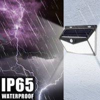 208LED 태양 PIR (자동 인체 유도) 정원 방수 야외 벽 빛 / 조명 사용자 정의 ZC001299 실제