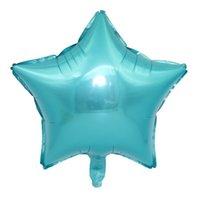 18 인치 스타 알루미늄 필름 풍선 웨딩 파티 장식 Colorfull 풍선 풍선 호일 풍선 1396 T2