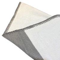 Cashmere Home Pillow Case Cover Lettera Jacquard Quadrato Cuscino Cuscini Not Pillow Core Wool Pilowcase a due colori HH21-230
