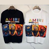 Camiseta de manga corta de moda de calle ami
