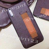 Üst Moda Cüzdan Telefon Kılıfları iPhone 12 Mini 11 Pro Max XS XR X 8 Artı Çevirme Deri Kılıf L Kabartmalı Cep Telefonu Kabuk Kapak S-5
