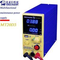 Professional Hand Tool Sets MECHANIC Adjustable DC Power Supply 20V 3A LED Digital Lab Bench Source Stabilized Voltage Regulator Switch