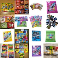 Edible Smell Proof Zipper Lock Gummies Packing Bags 0.85 Oz Ropes Bites Edibles Packaging For Original Resealable Pouch 600mg 500mg jllYQA