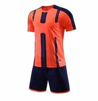 2021 Adult kits Soccer Jerseys Custom blank football kit Training Running Wears Short sleeve sport With Shorts DN019